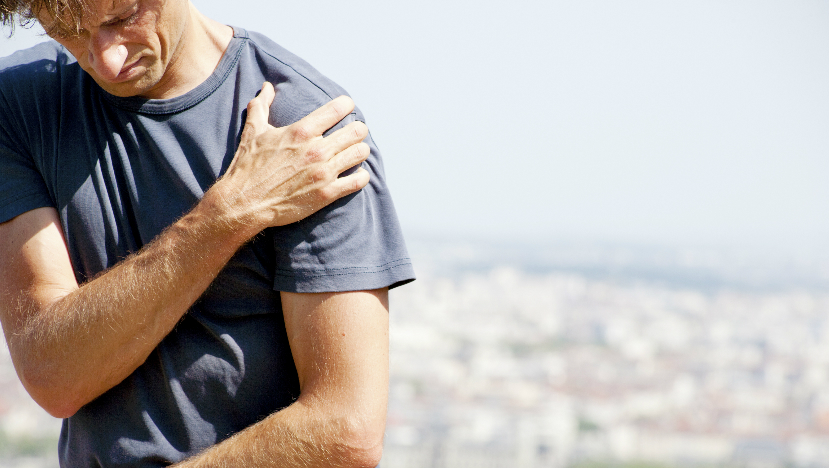 Person suffering from Rotator Cuff Tear