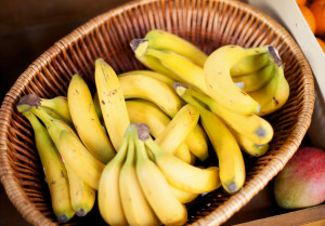 A basket of fairtrade bananas...For more images from this series click on the banner below...