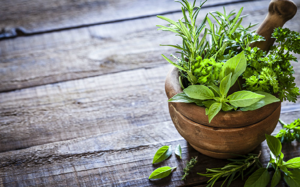 Herbs and healing go together.