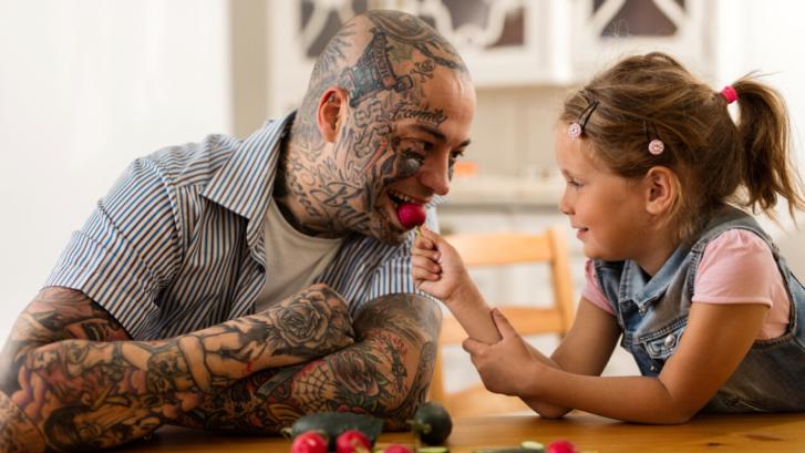 tattoo father