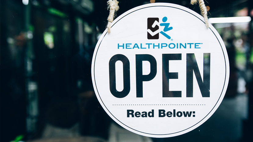Healthpointe is Open